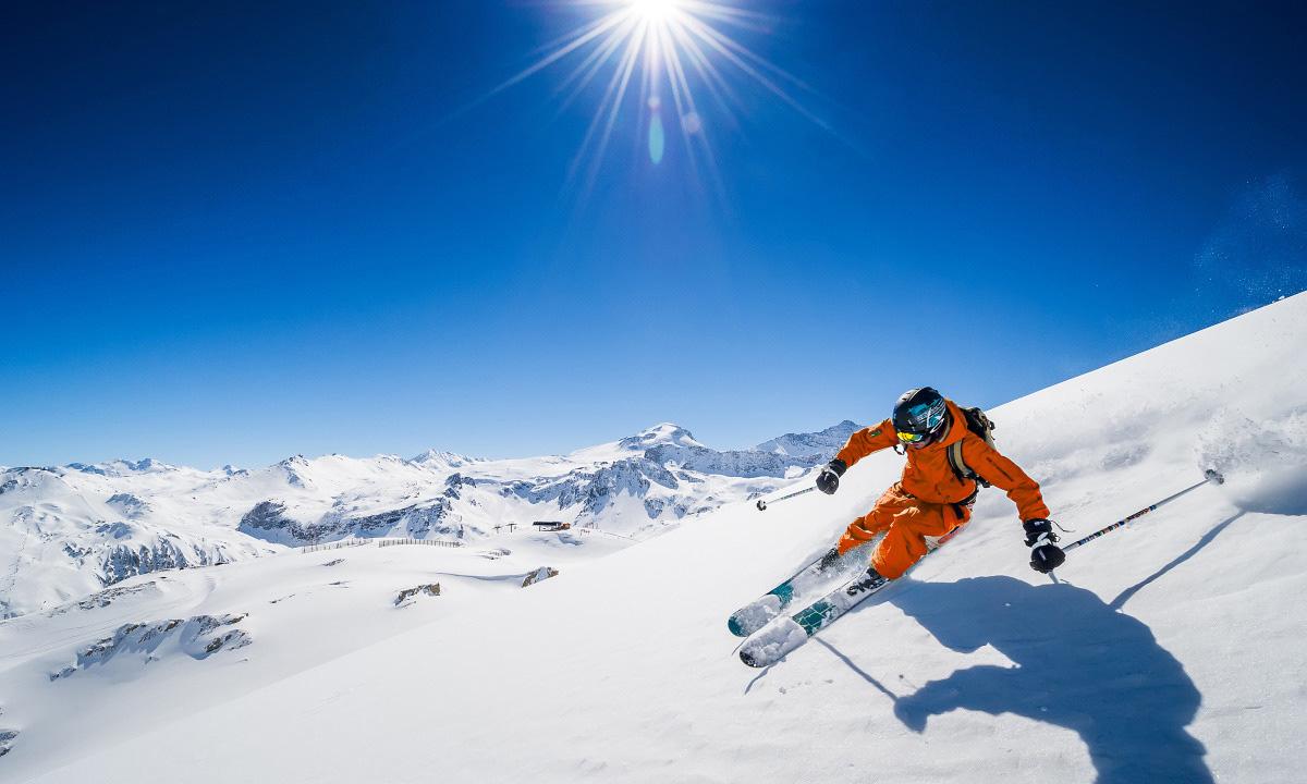 Ski de piste à l'Alpe d'Huez
