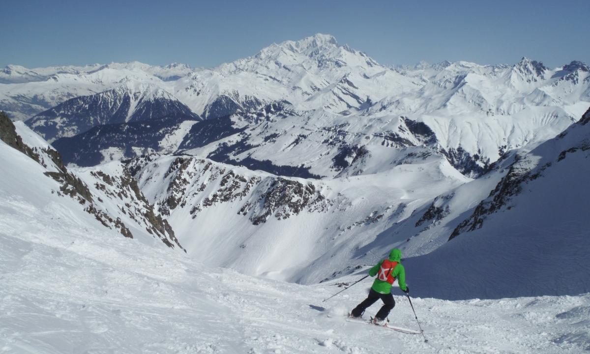 Ski hors piste à La Grave