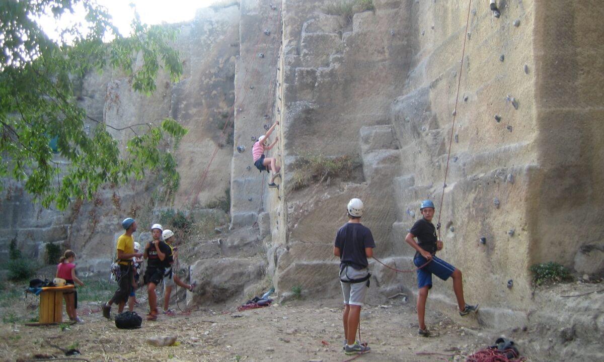 Sortie découverte en falaise - Boisseron - journée portes ouvertes