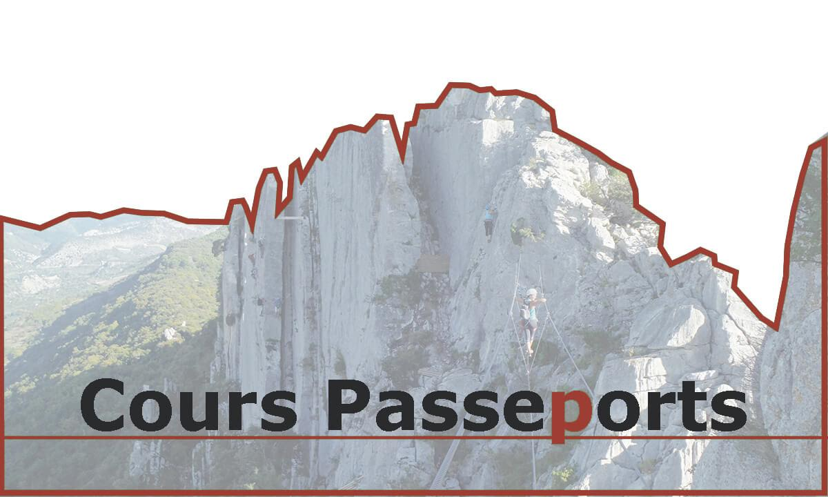 Passeport 2 en falaise - 7 et 14 avril