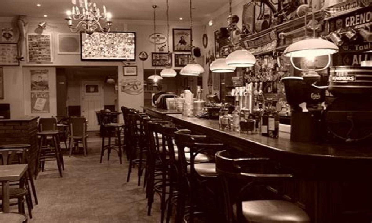 """""""Grimpe ta pinte"""" à l'Irish Tavern"""