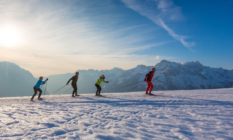 Ski de fond dans le Capcir