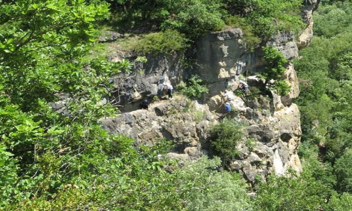 Escalade et pèlerinage à Lapanouse