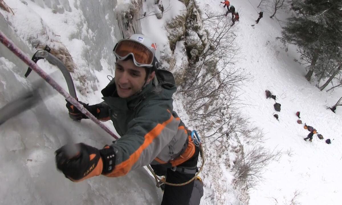 Initiation cascade de glace à Aiguilles (05)