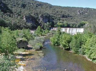 Escalade au Moulin de Bertrand